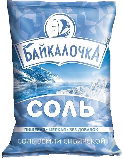 "Food grade rock salt ""Baikalochka"""